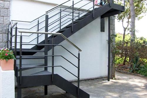 herreros rada escaleras de hierro forja y acero inoxidable